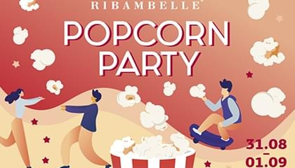 Вечеринка Back To School: Popcorn party в RIBAMBELLE