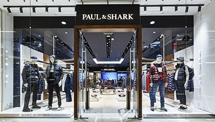 A boutique of the Italian Paul&Shark brand opened at the Vremena Goda Galleries
