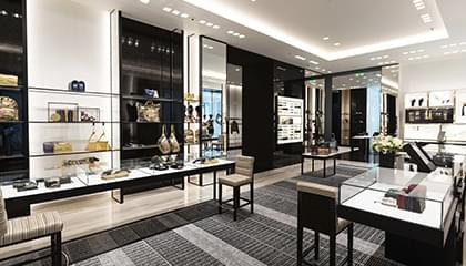 Chanel re-opens renovated boutique in Vremena Goda shopping mall
