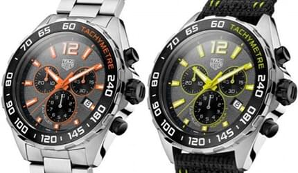 Novelties from TAG Heuer