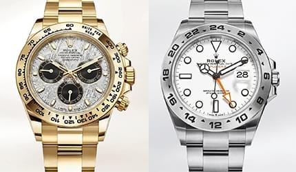 New watches from the legendary Rolex
