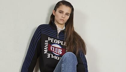 School motives in the fall Sandro collection