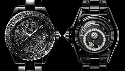 New design of Chanel J12 watch