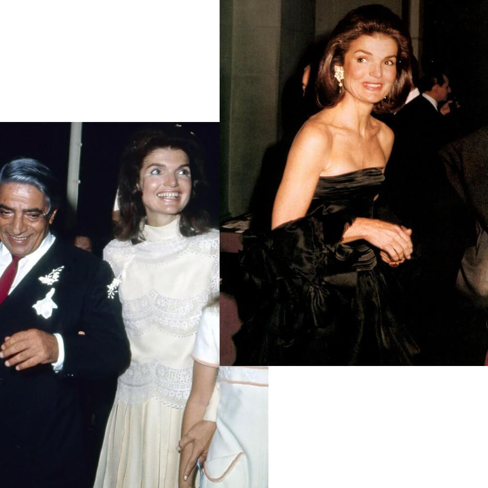 Jacqueline Kennedy in Valentino dresses