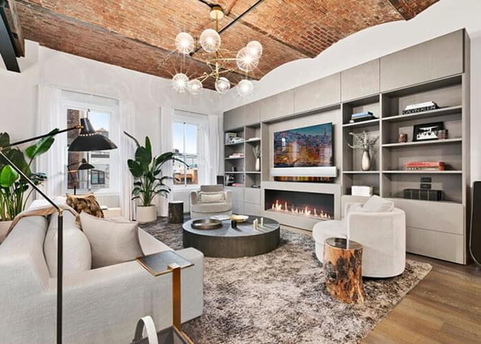 Bella Hadid and her modern loft