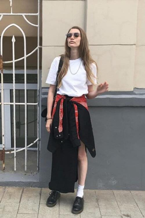 How top models dress in real life: interview with Irina Nikolaeva