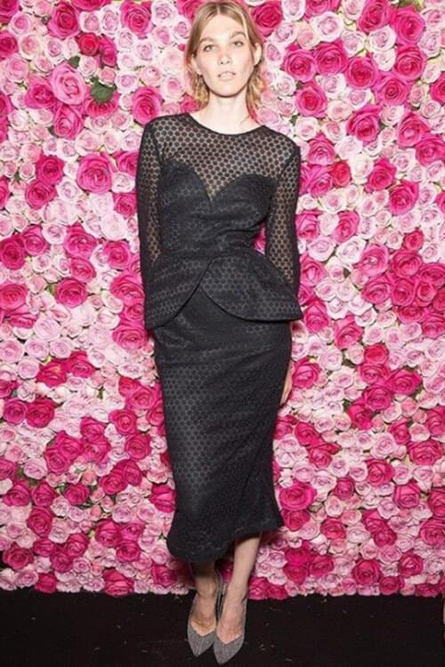 Ulyana Sergeenko dress