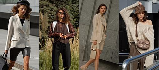 8 iconic autumn trends in the Vremena Goda Galleries shooting