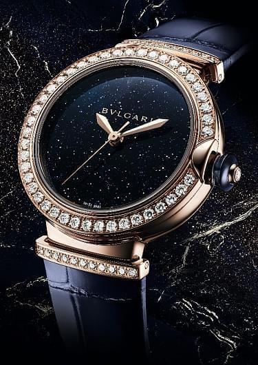 New LVCEA Aventurine Watch by Bvlgari