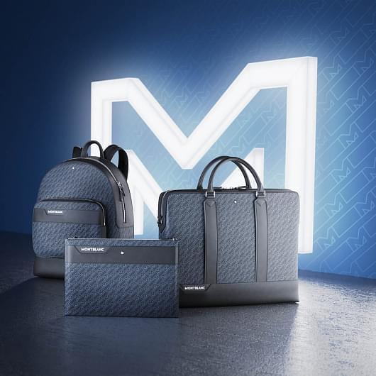The new Montblanc leather collection