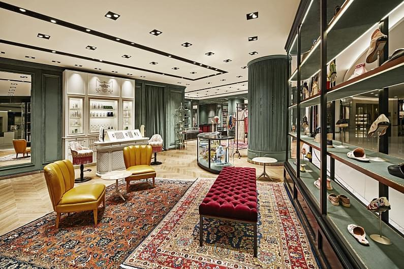 Gucci opening new store in the Vremena Goda gallery